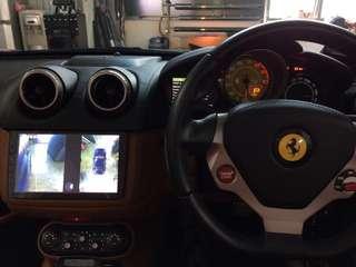 Ferrari California F149👉2013 Installed Super HD Night Vision 360 All View Camera