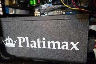 高階intel i7 電腦組合, 可超頻,firepro graphic card, platimax erenmax 白金火牛, 16gb ram, arctic 8管大風扇, asus 華碩 ATX底板