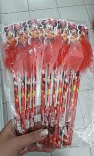 Selusin pensil mickey mouse