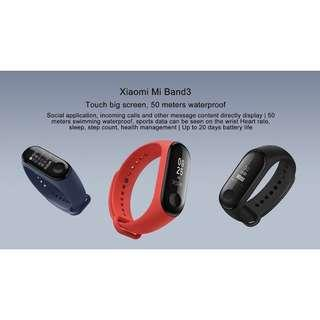 Authentic Xiaomi Mi 3 Fitness Band
