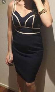 Fresh soul navy dress