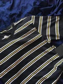 Striped Nike tshirt size s