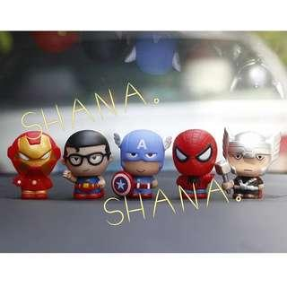 AVENGERS DC Cute Toys Figurines / Cake Toppers