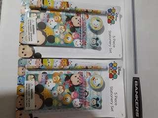 Disney Tsum Tsum 5 Piece Stationery Set 99 each