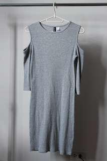 Preloved: Gray Dress