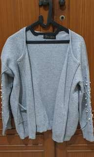 Outer Knit with Pearls (No Nego)