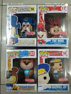 Funko Pop Ad Icons Target Exclusive