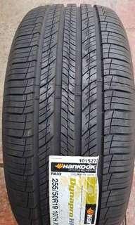 Hankook Dynapro HP2 tyres / 255 50 R19