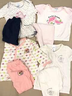 4 Baby Pyjamas