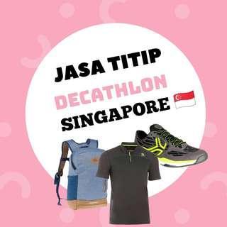 Decathlon Singapore | Baju Sports | Sepatu Olahrga | Sepatu Gunung | Sepatu Futsal | Sepatu Basket | Jastip Singapore