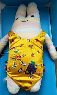 女幼童超可愛連身泳衣