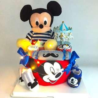 Micky Diapers Cake - Premium package
