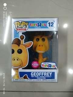 Funko Pop Ad Icons Geoffrey the Giraffe TRU Exclusive Flocked