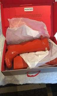Hunter boots size 7