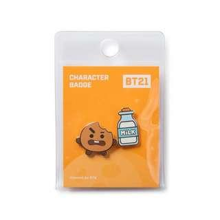 [PO] Line Friends BT21 character badge set of 2 pins