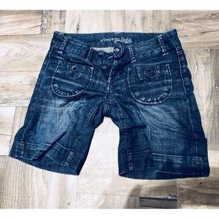 🚚 American eagle 女牛仔短褲 size 0
