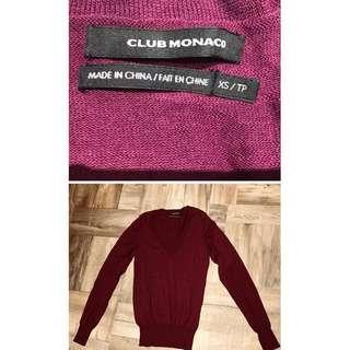 🚚 Club Monaco 女 紫色T size XS