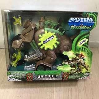 Mattel Masters Of The Universe MOTU 2002 He-Man Vs Snakemen Heroic Spitbull