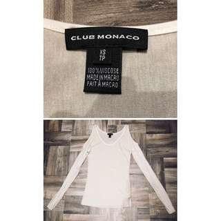 🚚 Club Monaco 設計師款長袖size XS