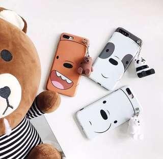 🚚 WeBareBear Phone Case