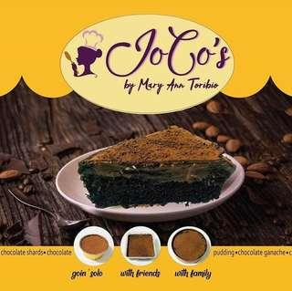 Joco's Five layers Chocolate Cake ( dream cake inspired)