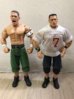 Jakks Pacific WWE Ruthless Aggression John Cena X 2
