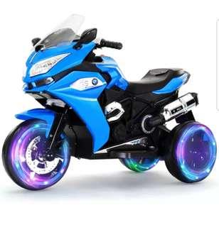 Brand New Big Rechargeable Kid Motorcycle