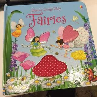 獨感書 Usborne Touchy Feely - Fairies