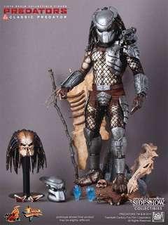 1/6 Hot Toys Predators Classic Predator Special Edition {With Super Skull}