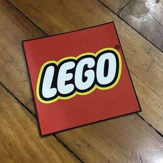 Pop Culture Luggage Laptop Misc Sticker Toy Brand Company LEGO Building Block Collectible Logo