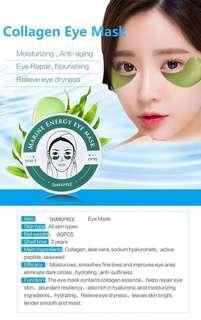 Eyes mask 60pcs Shangpree Anti-Puffiness Dark Circle Moisturizing Eyemask Eye Care