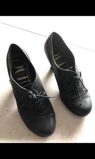Pulp Black Heels