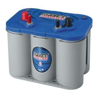 Optima BlueTop 12V 50AH 800CCA 34M Battery