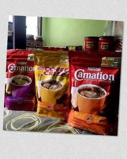 CARNATION HOT CHOCO AND COFFEE CRISP 450g