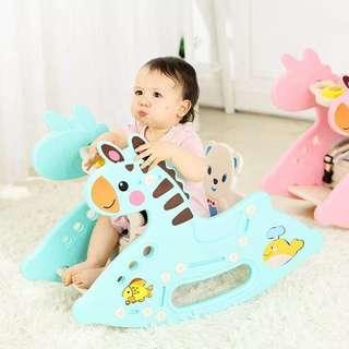 2in 1 Table&Rocking horse