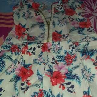 Dress Flower Cool Girl