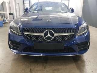 Mercedes Benz C200 AMG Line Coupe