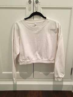 American Apparel Crop Sweater