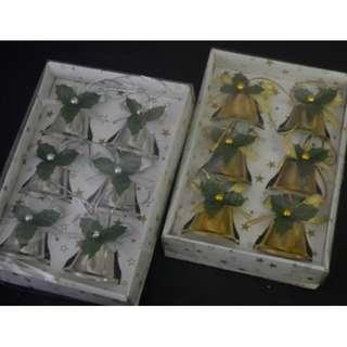 Box of 4cm Metal bell-Gold and Silver