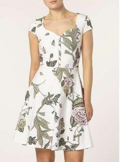 UK 12 Dorothy Perkins Floral Dress