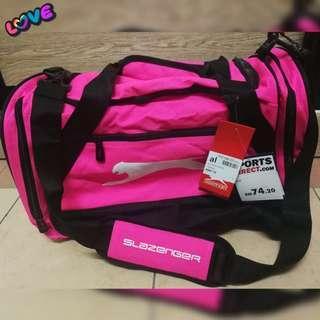 Slazenger Gym/Travel Holdall (Pink)