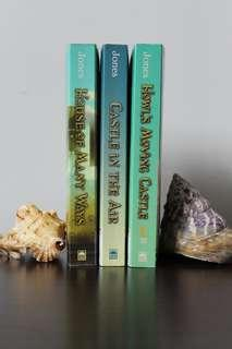 Howl's Moving Castle Book Set