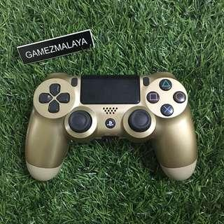 [USED] PS4 DUALSHOCK 4 GOLD V 2 - (GAMEZMALAYA)