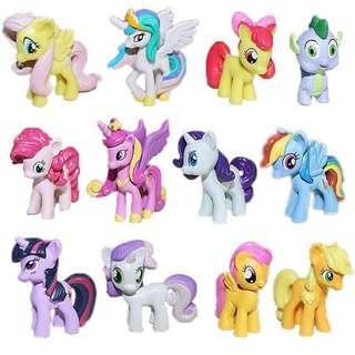 Pony 12pcs