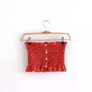 PO | Red Tube Top
