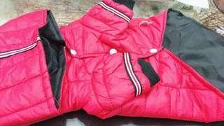 📣單獨出售 🔹特價品非瑕疵品🔹  寵物連帽厚棉羽絨衣 🌋保暖衣 ☁兩腳衣  ☁冬季加厚羽絨服