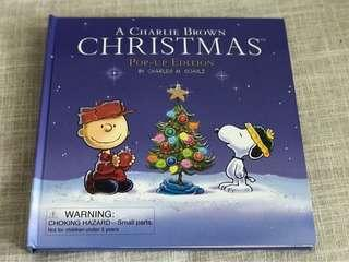 Charlie Brown Christmas pop up edition