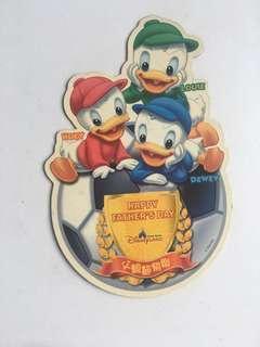 香港迪士尼🏰disney 中古😅父親節磁貼