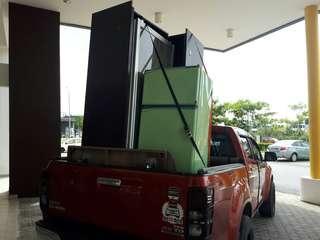 Movers transporter 4x4 / lori