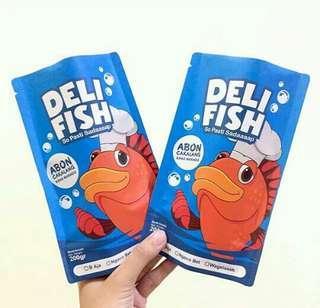 Delifish Abon Ikan Cakalang Khas Manado